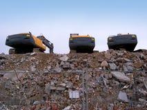 землечерпалки Стоковая Фотография RF