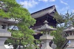 Земли виска Zenkoji, Nagano Японии Стоковые Изображения RF