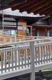 Земли виска Zenkoji, Nagano Японии Стоковое Изображение