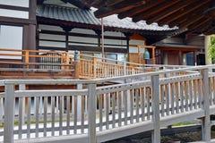 Земли виска Zenkoji, Nagano Японии Стоковая Фотография RF