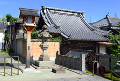 Земли виска Zenkoji, Nagano Японии Стоковые Фото