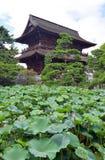 Земли виска Zenkoji, Nagano Японии Стоковые Фотографии RF