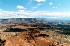 земли каньона Стоковое фото RF