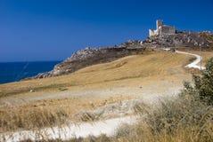 земли конца замока Стоковое фото RF