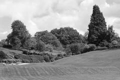 Земли Calverley - живописный общественный парк в Tunbridge Wells Стоковые Фотографии RF