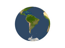 земля америки показывая на юг Стоковое Фото