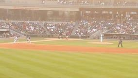 Земля бейсбольного стадиона стоковое изображение rf