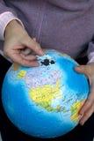 земля вклада моя к Стоковая Фотография RF