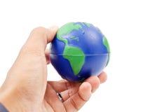 земля вручает наше Стоковое фото RF