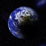 Земля в космосе Стоковые Изображения