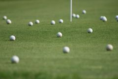 земля гольфа Стоковое фото RF