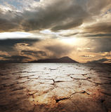 Земля засухи Стоковое Изображение RF