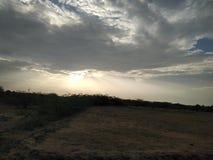 Земля и небо стоковое фото