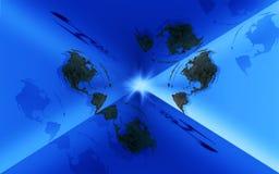 земля коробки Стоковая Фотография RF