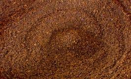 земля кофе предпосылки Стоковая Фотография