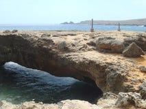 земля моста aruba стоковое фото