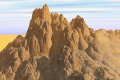 земля неровная Стоковое фото RF