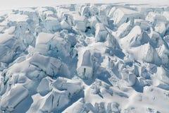 Земля Новая Зеландия снега ледника Fox Стоковые Фотографии RF