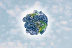 Земля отброса Стоковое Изображение