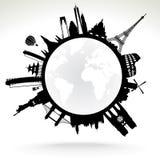 Земля планеты Стоковое Изображение