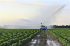 земля полива 3 ферм Стоковое Изображение