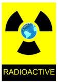 земля радиоактивная Стоковое фото RF