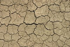 земля расселины Стоковые Изображения RF