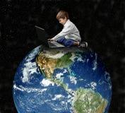 земля ребенка Стоковая Фотография