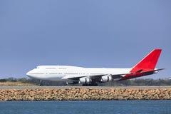 Земля самолета B767 бортовая Стоковое Изображение