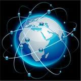 земля связи Африки иллюстрация вектора