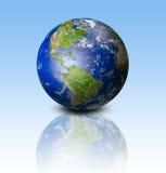 земля сини предпосылки иллюстрация вектора