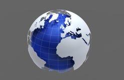 земля сини 3d Стоковое Изображение