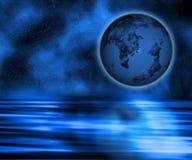земля сюрреалистическая иллюстрация вектора