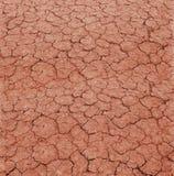 земля треснутая глиной стоковая фотография rf