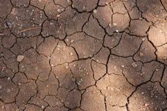 земля треснутая предпосылкой Стоковое фото RF