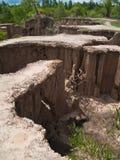 земля убывала Стоковая Фотография RF