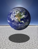 земля утлая Стоковое Фото