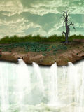 Земля фантазии стоковое изображение