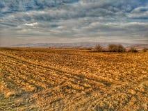 Земля фермеров стоковая фотография