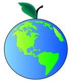 земля яблока Стоковые Изображения