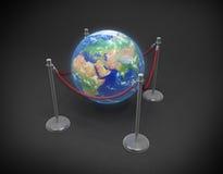земля дня принципиальной схемы Стоковое Изображение