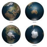 земля 3d иллюстрация вектора
