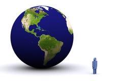 земля 3d Стоковое фото RF