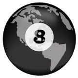 земля 8 шарика сверх Стоковое Изображение