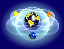 земля abstarct Стоковое фото RF