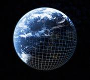 земля cyber Стоковые Изображения