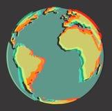 земля 3d Стоковая Фотография