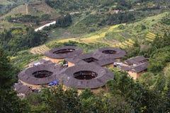земля fujian зданий Стоковая Фотография RF