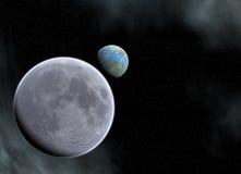 земля mooan Стоковая Фотография RF