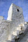 земля newquay s хаты huer конца cornwall стоковые изображения rf